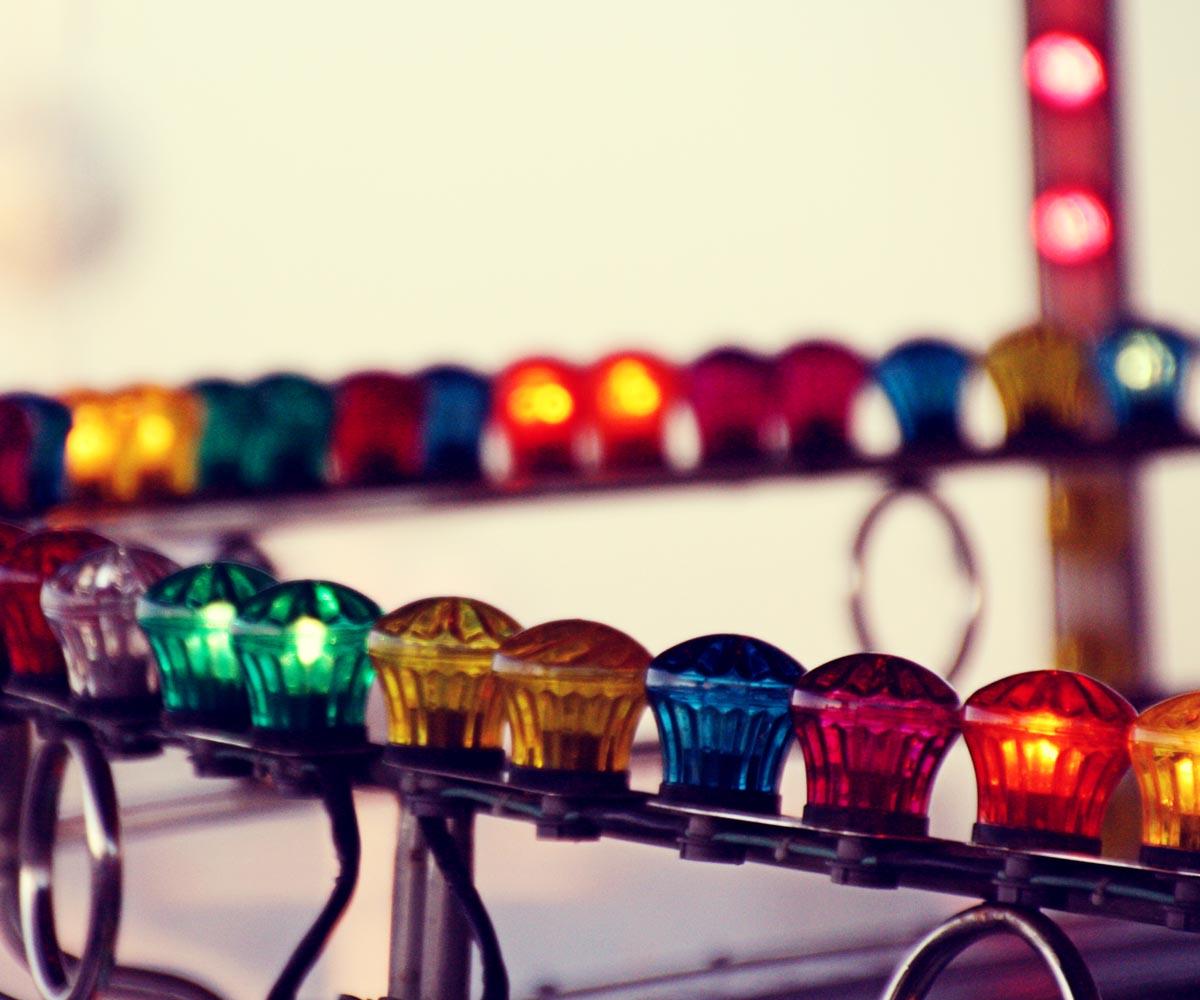 Lumières de manèges