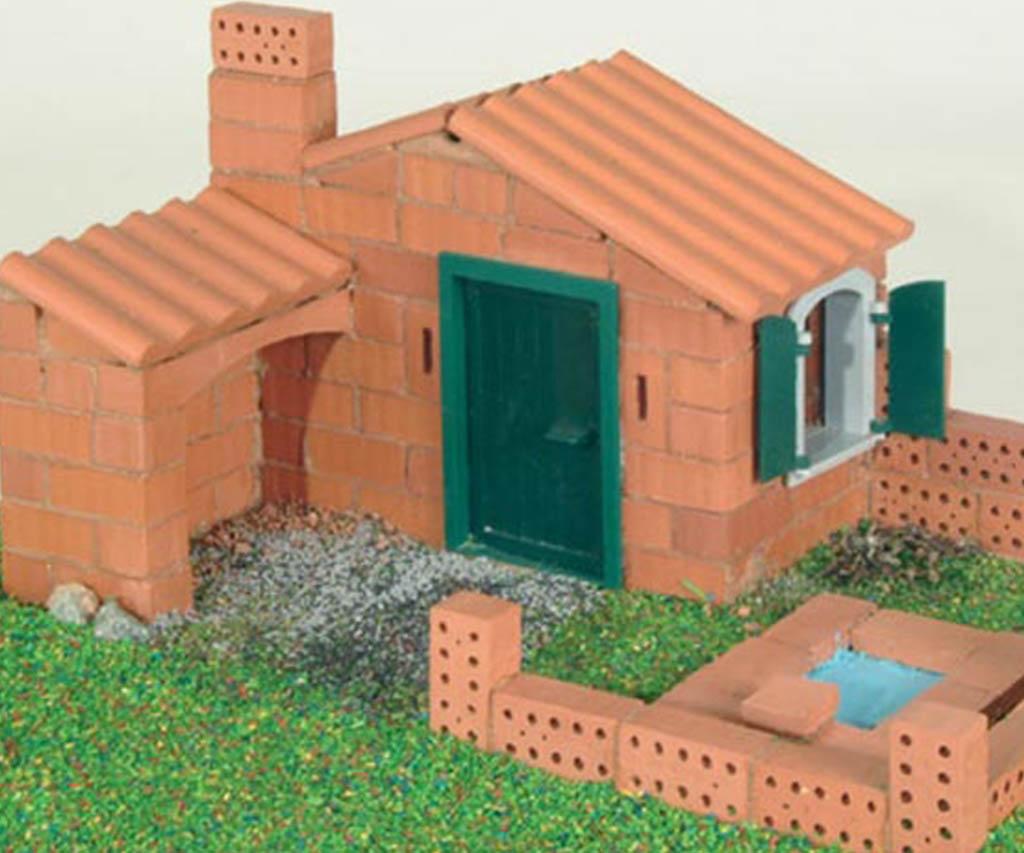 Une maison de l'atelier maçonnerie