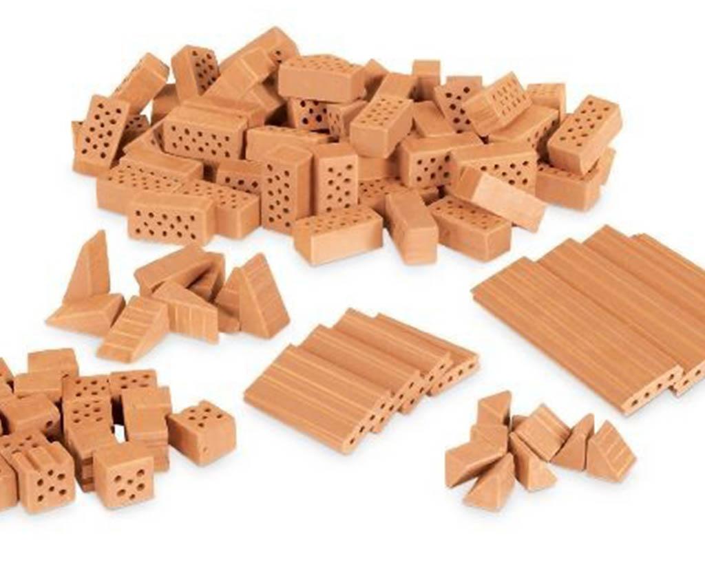 Des briques de l'atelier maçonnerie