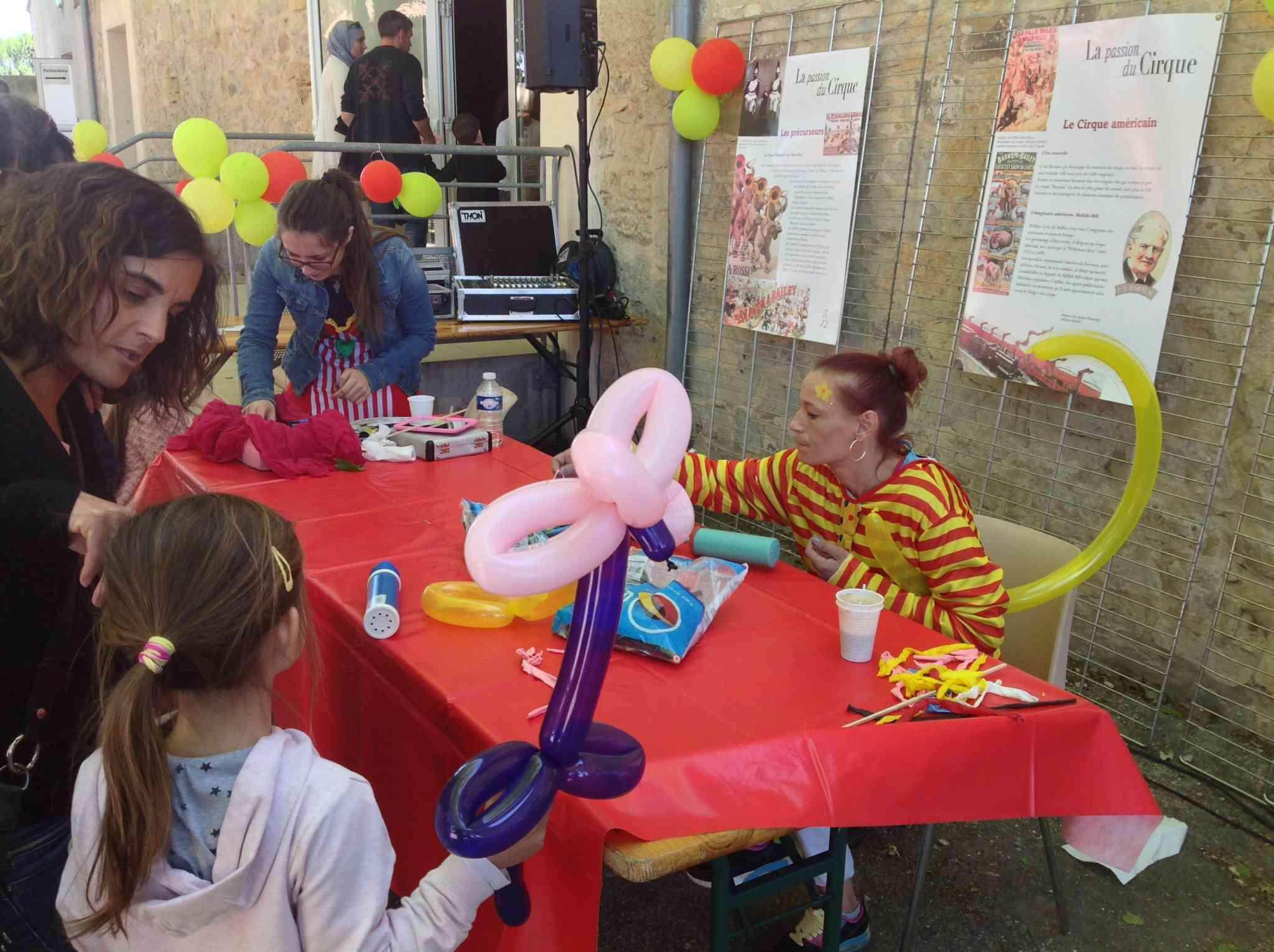 Atelier sculpture de ballons