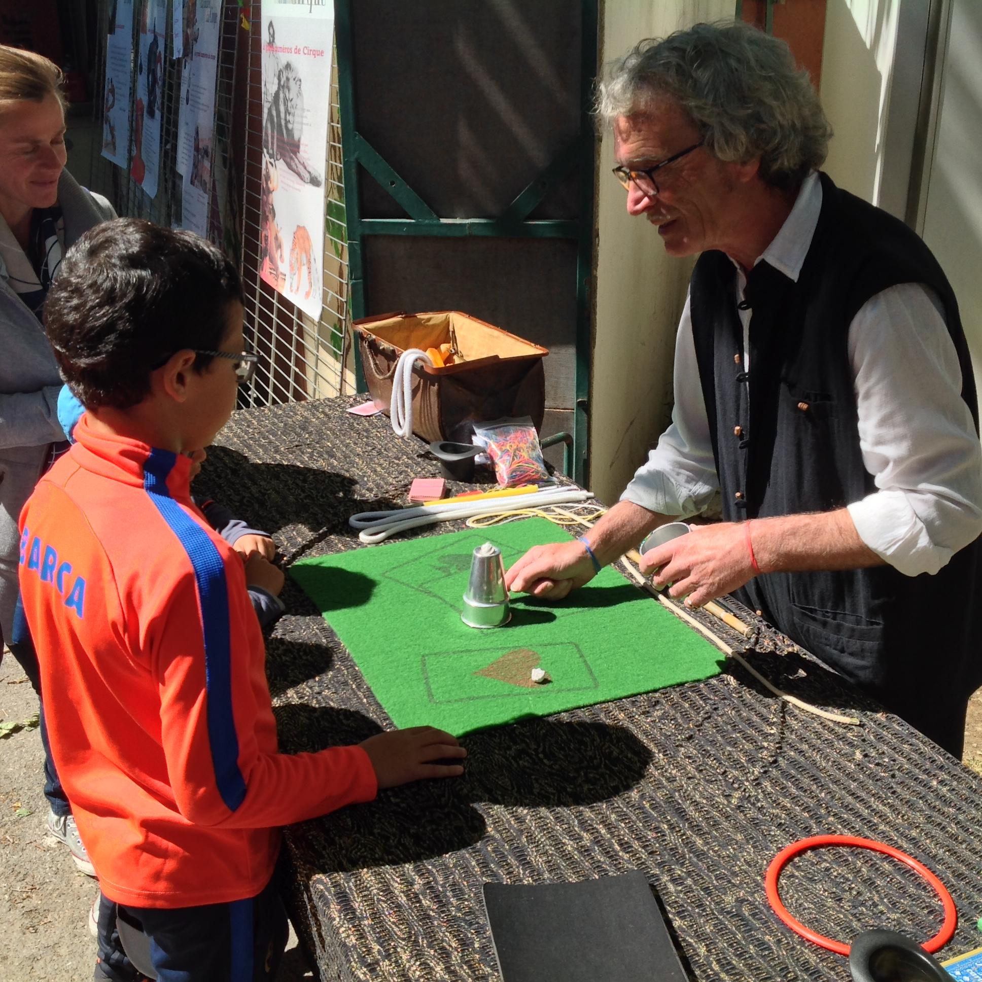 Atelier magie pour enfants
