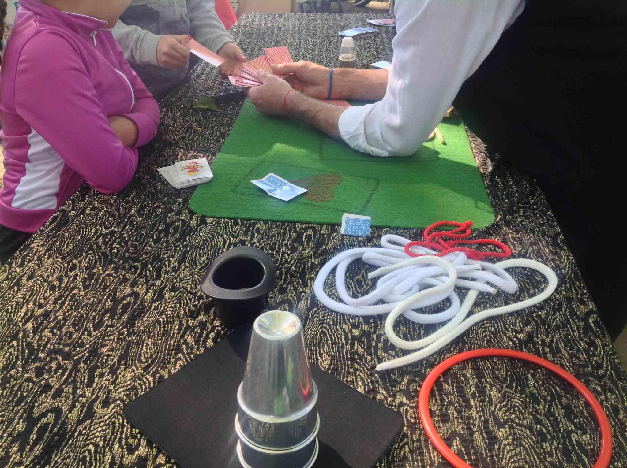 Atelier de magie pour les enfants